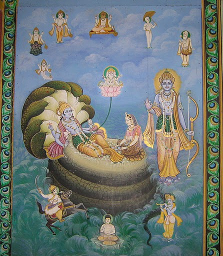 Lord Rama, The source of all incarnations